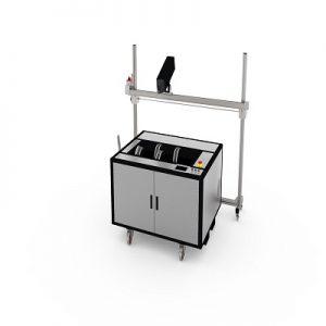 Лазерна система за почистване на растер валове